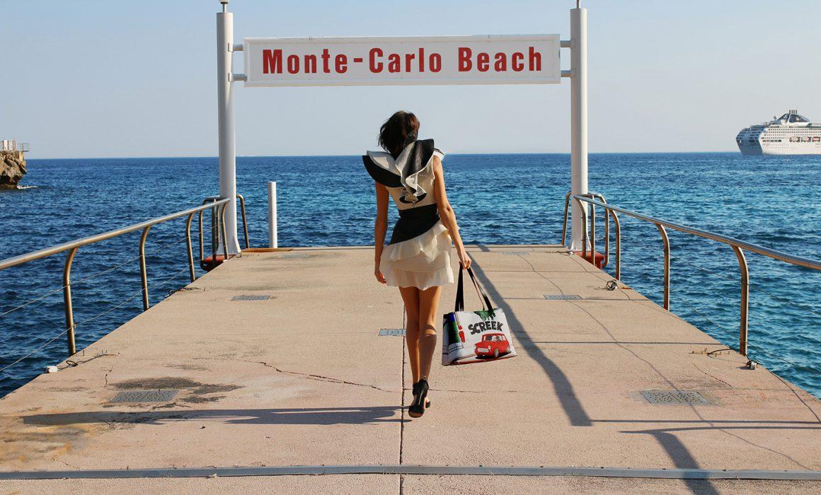 Caroline Dechamby Bags Screek Tote Monaco